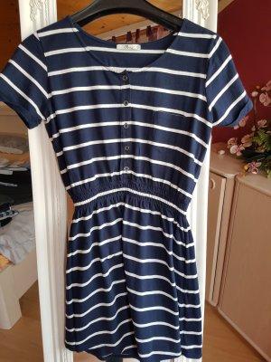 marine Kleid gestreift blau weiß S