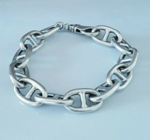 Vintage Silver Bracelet silver-colored real silver