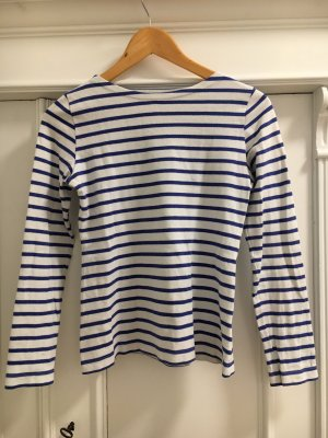 Petit bateau Camisa de rayas blanco-azul