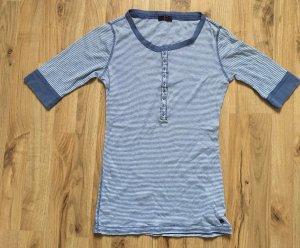 Marineblau gestreiftes Shirt von Ann Christine
