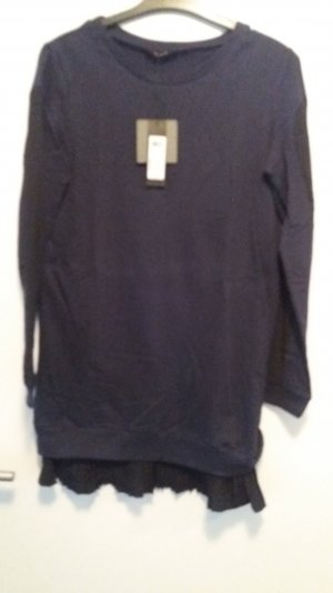 Vila Sweater black-dark blue