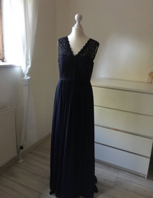 Marineblaues Abendkleid