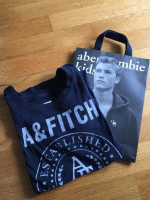 Marineblaues Abercrombie &Fitch T-Shirt