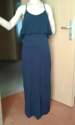 Mango Maxi Dress dark blue