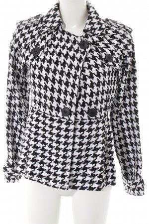 Naval Jacket white-black houndstooth pattern Brit look