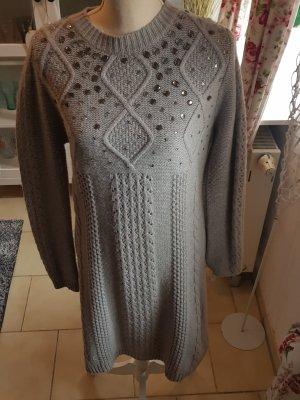 Amphora Wollen jurk veelkleurig Wol