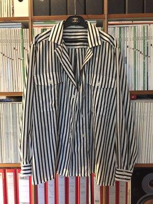 Mario Rosella Bluse Hemd gestreift Hipster Gr. 42 Blogger