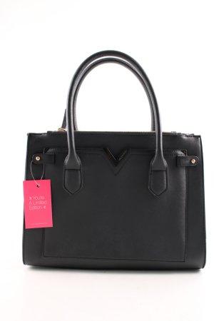 Mario Valentino Handtasche schwarz Business-Look