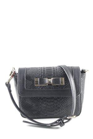 Mario Valentino Mini Bag black animal pattern party style