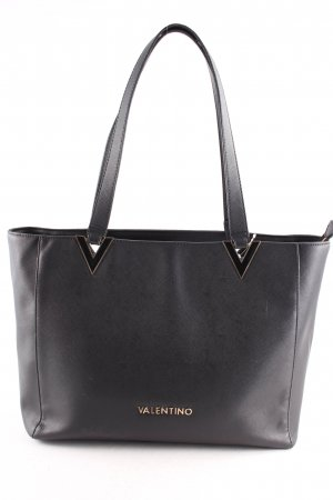 Mario Valentino Shopper black-gold-colored casual look