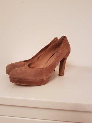 Maripé Chaussure à talons carrés beige