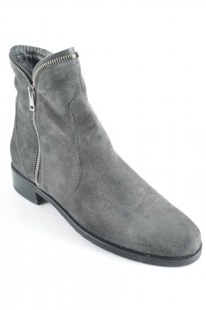Maripé Booties grau Glitzer-Optik