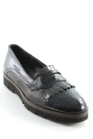 Maripé Zapatos Budapest negro estilo «business»