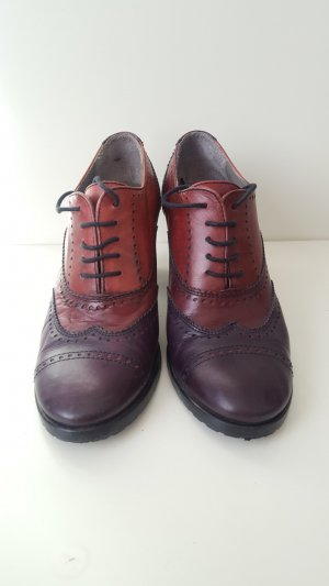 Maripé Wingtip Shoes multicolored imitation leather
