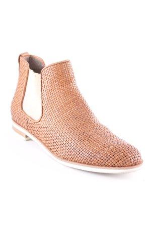 Maripé Chelsea Boots hellbraun Casual-Look