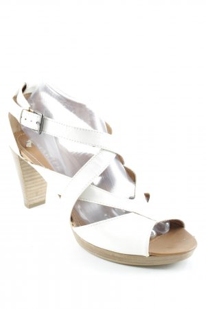 Maripé High Heel Sandal white casual look