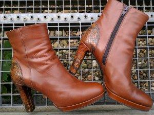 Maripe Leder Stiefelette Ankle Boots Neuwertig