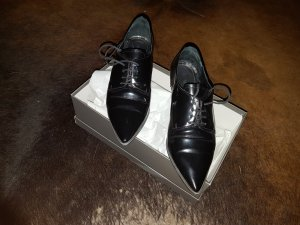 Maripé Oxfords black leather