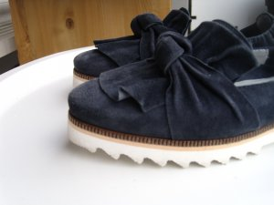 Maripe Mokassin Loafer Slipper trendy weiße Sohle Gr. 36 - NEU