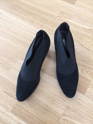 Maripé Chaussure à talons carrés noir