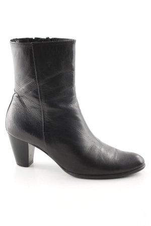 Maripé Reißverschluss-Stiefeletten schwarz Elegant