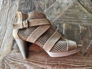 Maripé Sandaletten ocker khaki
