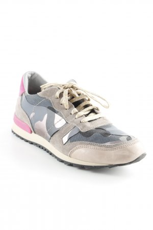 Maripé Schnürsneaker Camouflagemuster Casual-Look