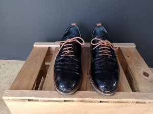 Maripé Wingtip Shoes dark blue