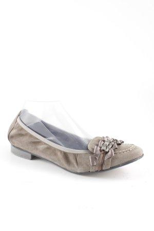 Maripé Slingback Ballerinas graubraun-grau Casual-Look