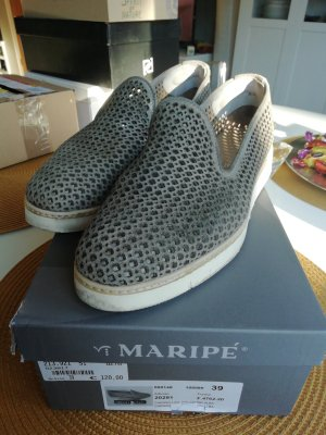 Maripé Slippers white-grey