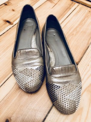 Maripé Slipper in metallic