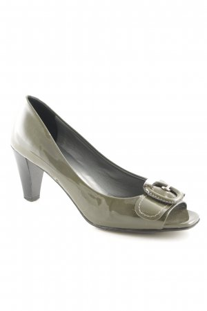 Maripé Spangen-Pumps khaki Business-Look