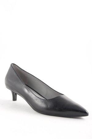 Maripé Spitz-Pumps schwarz klassischer Stil