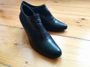 Maripé Stiefeletten Ankle Boots Echtleder schwarz bequem Gr. 38,5