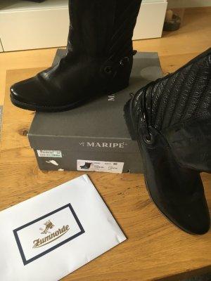 Maripe Stiefeletten Boots schwarz Gr. 40