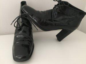Maripé Bottines à lacets noir cuir