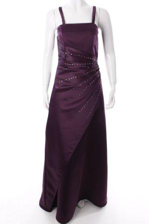 Mariposa Abendkleid dunkelviolett Eleganz-Look