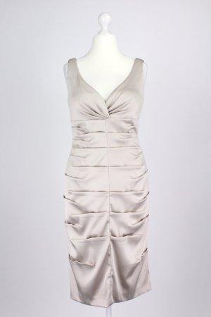 Mariposa Abendkleid mit Raffung creme Größe 38