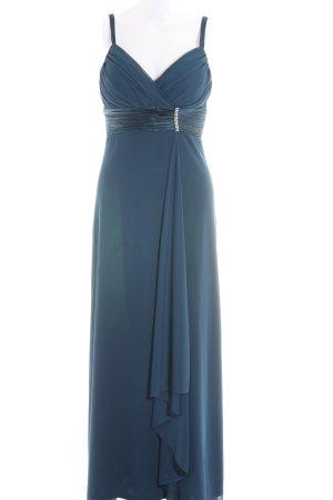 Mariposa kleid blau mit spitze