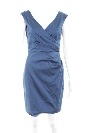 Mariposa Abendkleid stahlblau Elegant