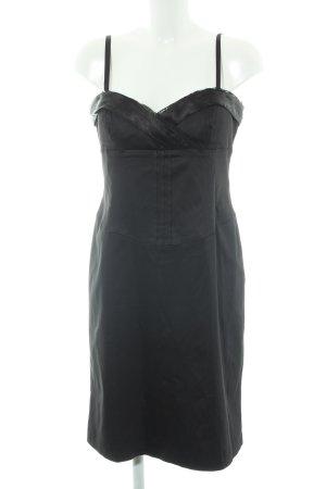 Mariposa Vestido bustier negro elegante