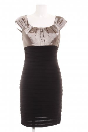 Mariposa Etuikleid schwarz-roségoldfarben Elegant