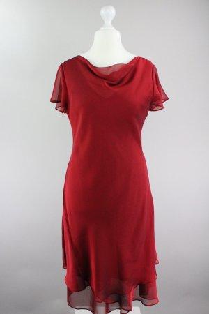 Mariposa Kleid Ballkleid rot Größe 40