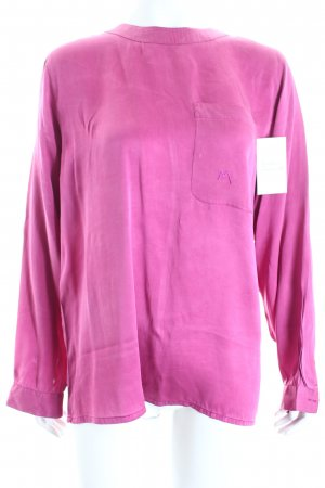 Mariposa Oversized Bluse purpur klassischer Stil