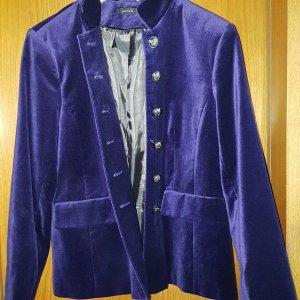 Mariposa Samt Blazer violett Gr.44 *wie neu*
