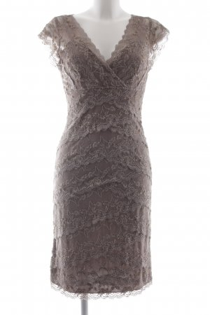 Mariposa Spitzenkleid graubraun Elegant