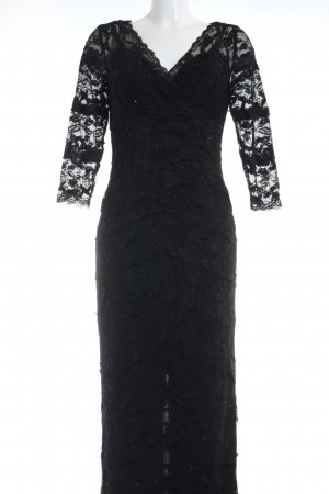 Mariposa Spitzenkleid schwarz Elegant