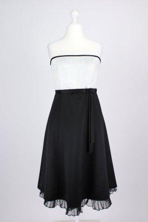 Mariposa Trägerloses Abendkleid schwarz Größe 38