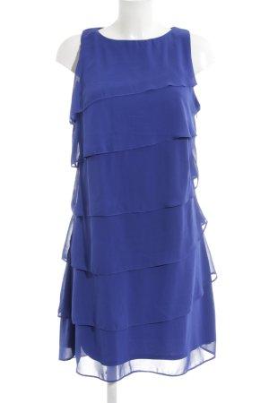 Mariposa Volantkleid blau Elegant