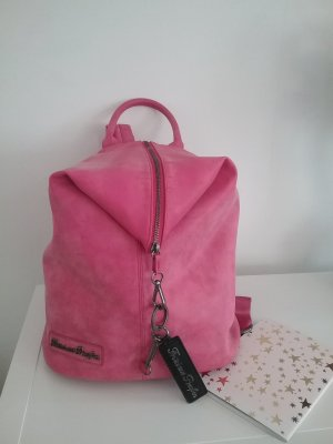 Fritzi aus preußen Backpack magenta imitation leather